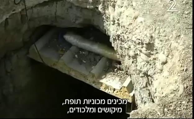 """המנהרות של דאע""""ש במוסול"""