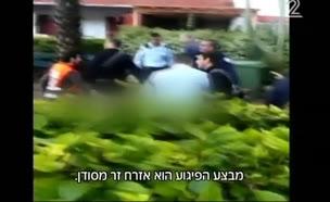 חשד לפיגוע באשקלון: חייל נפצע קל