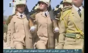 נשות צבא אסד (צילום: חדשות 2)