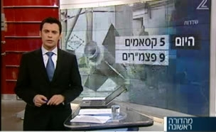 אולמרט מאיים על תושבי עזה(חדשות 2)