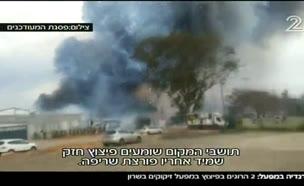 2 הרוגים בפיצוץ מפעל זיקוקים