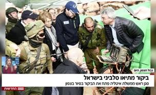 ביקור מתיאו סלביני בישראל